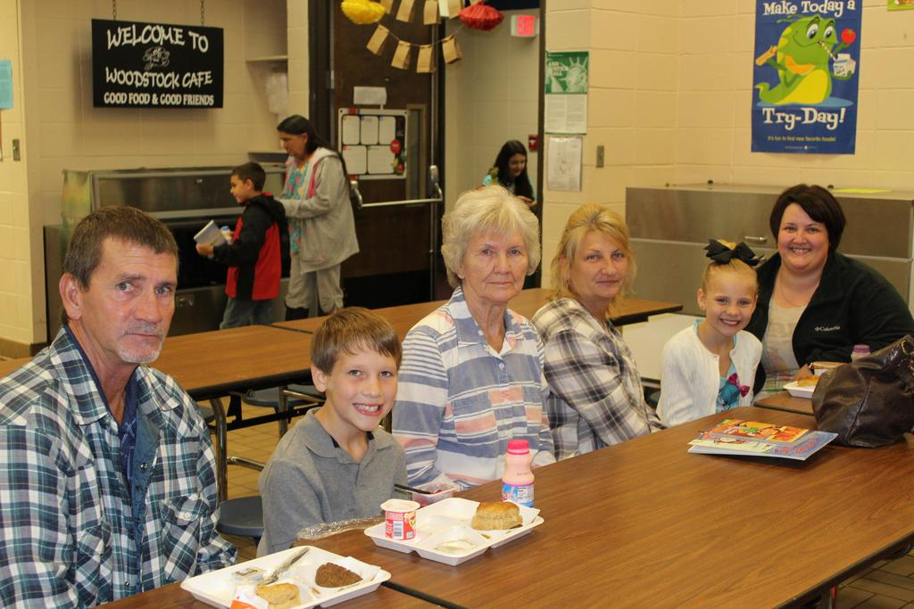 students with grandparent