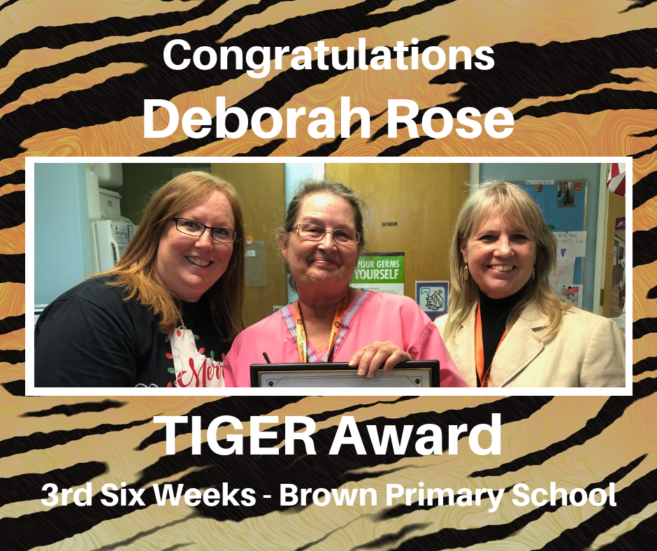 Deborah Rose TIGER Award
