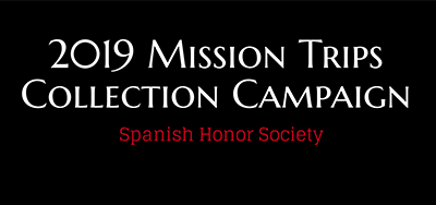 2019 Mission Trips Collection Campaign Featured Photo