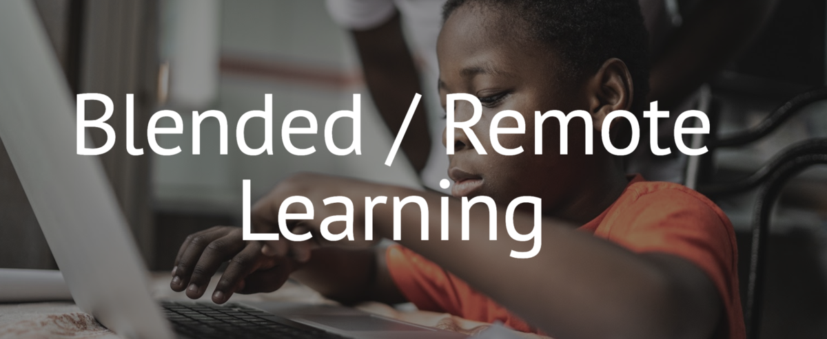 Blended / Remote Learning Page Link