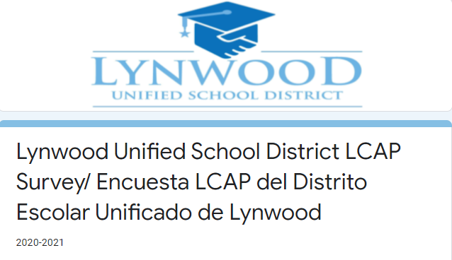 Lynwood Unified School District LCAP Survey Featured Photo