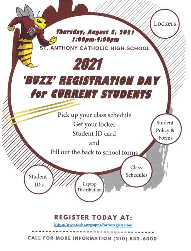 Returning Students Registration