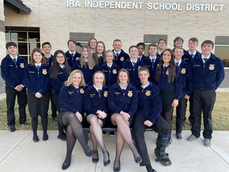 FFA Lone Wolf District LDE Competitors Featured Photo