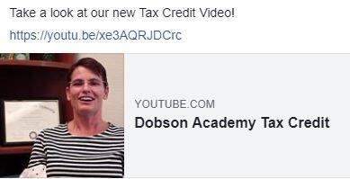 Tax Credit link to video