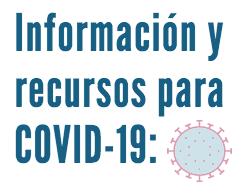 Información y recursos para COVID-19