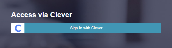 Sign in With Clever