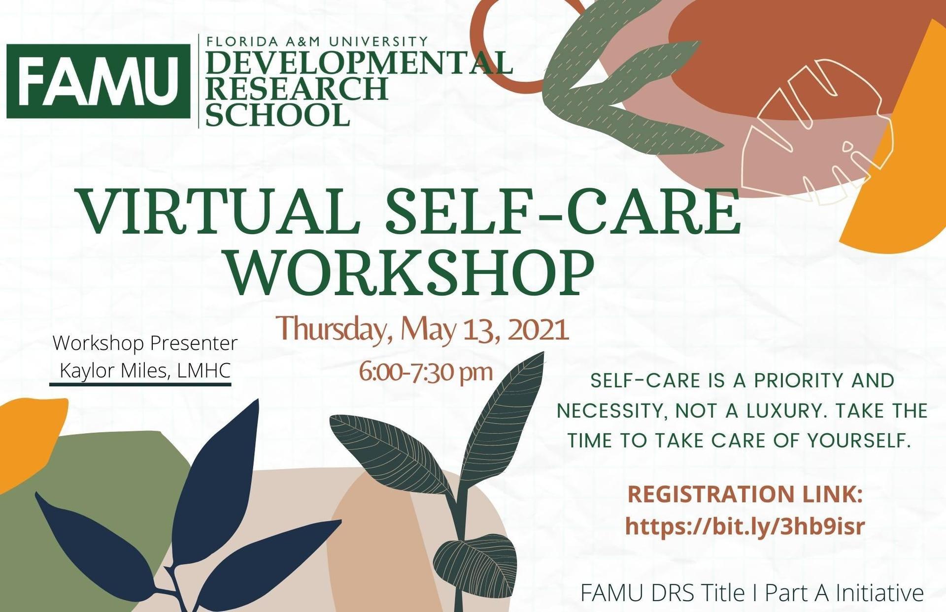 Virtual Self-Care Workshop_May 2021