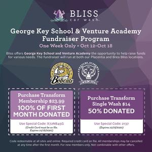 Bliss Car Wash Fundraiser