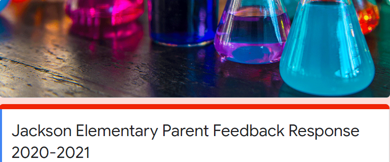 Title 1 Parent/Family Meeting Feedback