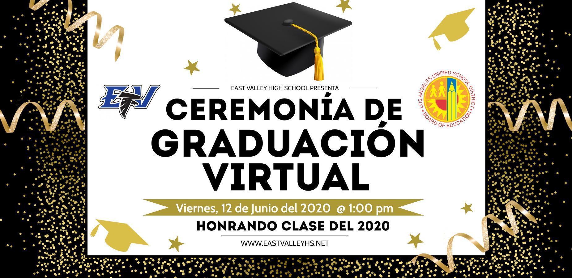 Graduation Announcement Spanish