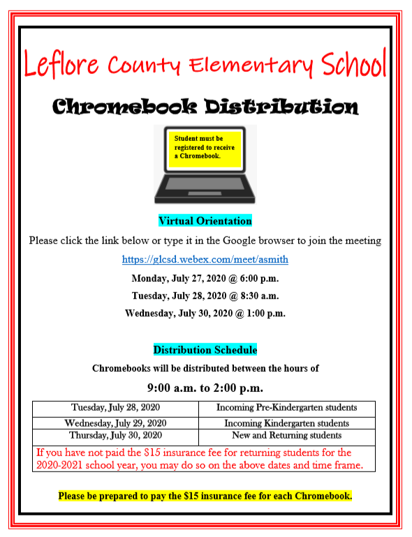 Chromebook Distribution Featured Photo