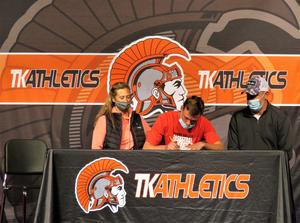 Cole Shoobridge will  play football and basketball at Olivet.