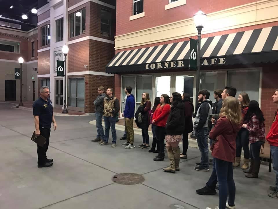 Tour of Suburban Law Enforcement Academy