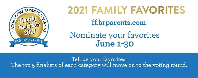 Vote DAILY to nominate Trinity Lutheran School, Trinity Lutheran Preschool, & Marinea McGehee as a BR Parents Magazine Family Favorite Featured Photo