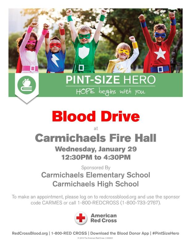 Winter Community Blood Drive Announcement: Thumbnail Image