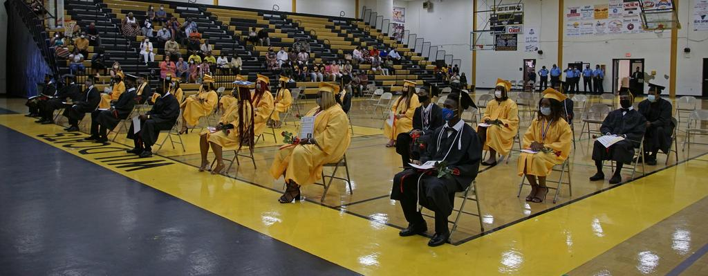 East St. John High graduation