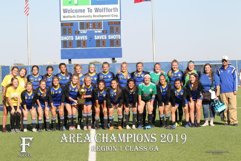 Girls Soccer - 2019 Area Champions