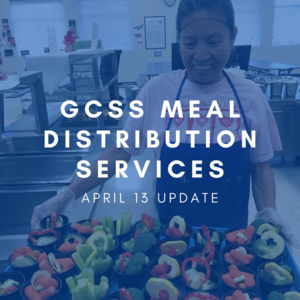 GCSS Meal Distribution Graphic