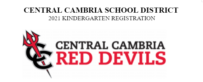 '21 - '22 Kindergarten Registration