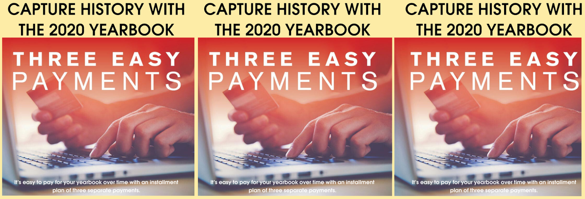 You can still get your 2020 Highland Yearbook from Jostens - in 3 easy payments!