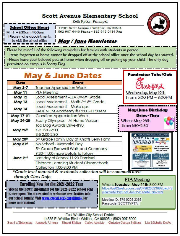 Image of May/June Newsletter