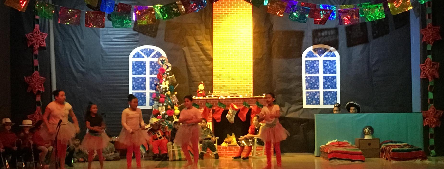 Image of Dancers at Christmas Program