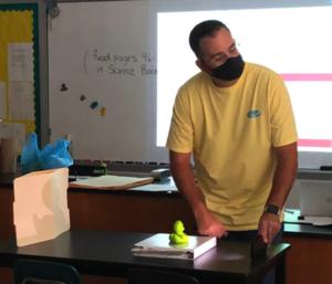 Mr. Stewart teaching