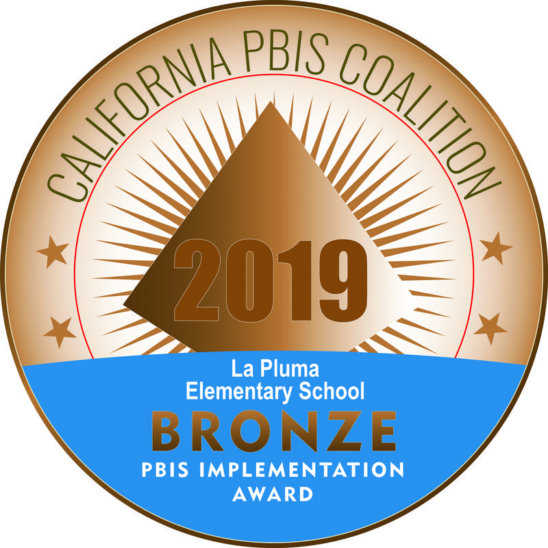Congratulations to the La Pluma Learning Community on their PBIS (Positive Behavior Interventions and Supports) Bronze Medal Recognition! Featured Photo