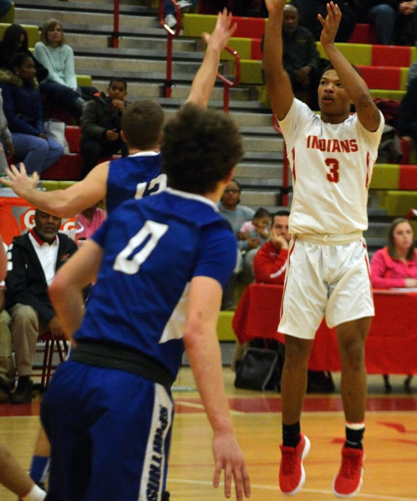 Varsity Boys' Basketball vs Hempfield - 020218
