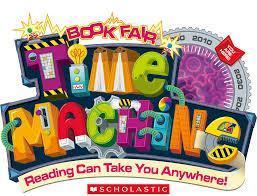 Book fair time machine, where books can take you places!