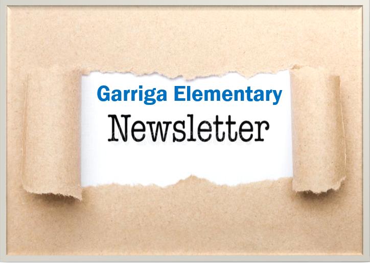 Garriga Newsletter
