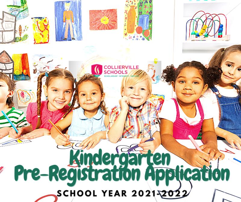 Kindergarten Pre-Registration Application School Year 2021-2022 Featured Photo