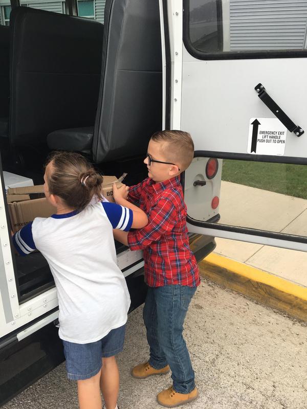 loading donations