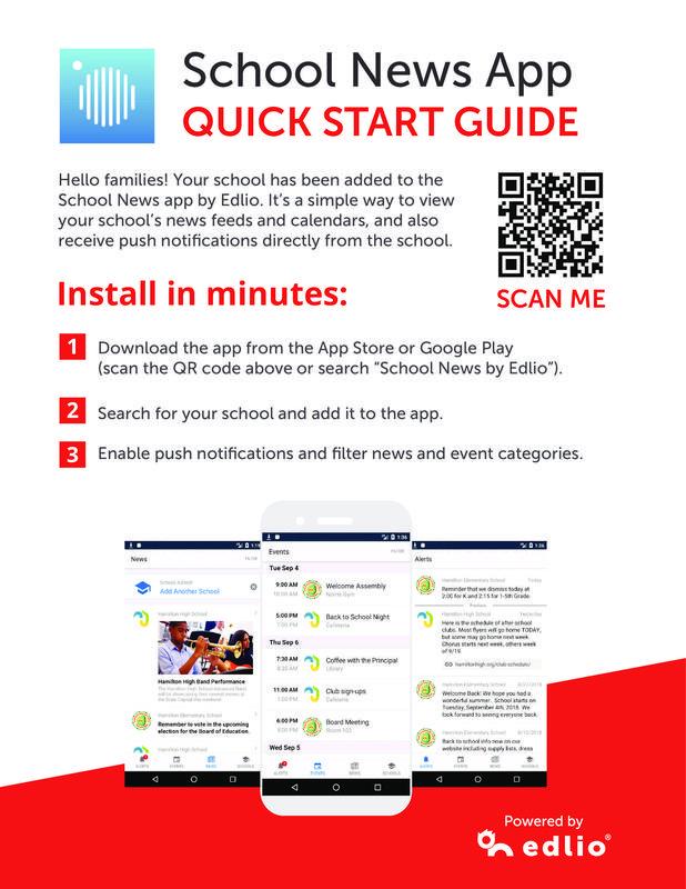 school news flyer