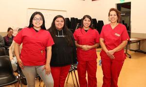Granger School District Medical math students
