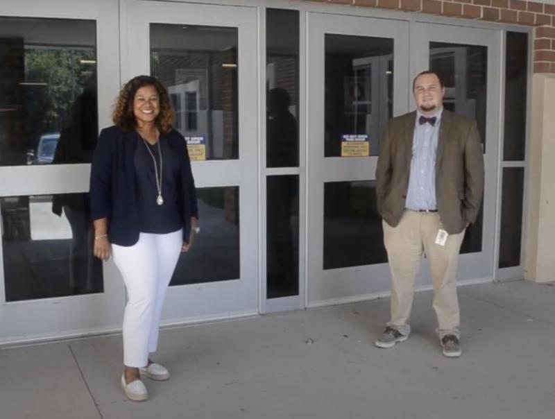 GTMS Administrators Mrs. Buggs & Mr. Wheeler