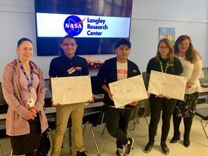 NASA Art Contest Winners (NBHS)