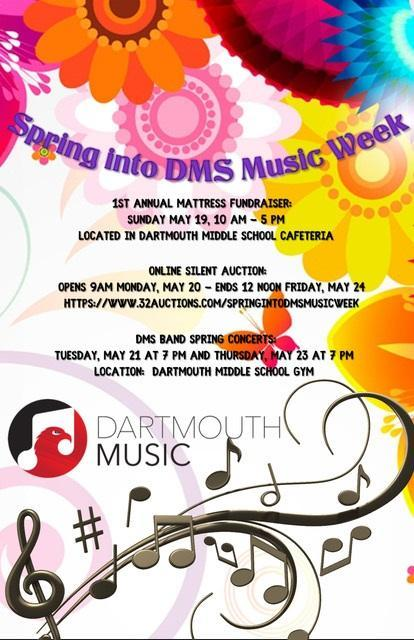 Spring into DMS Music Week - Silent Auction Featured Photo
