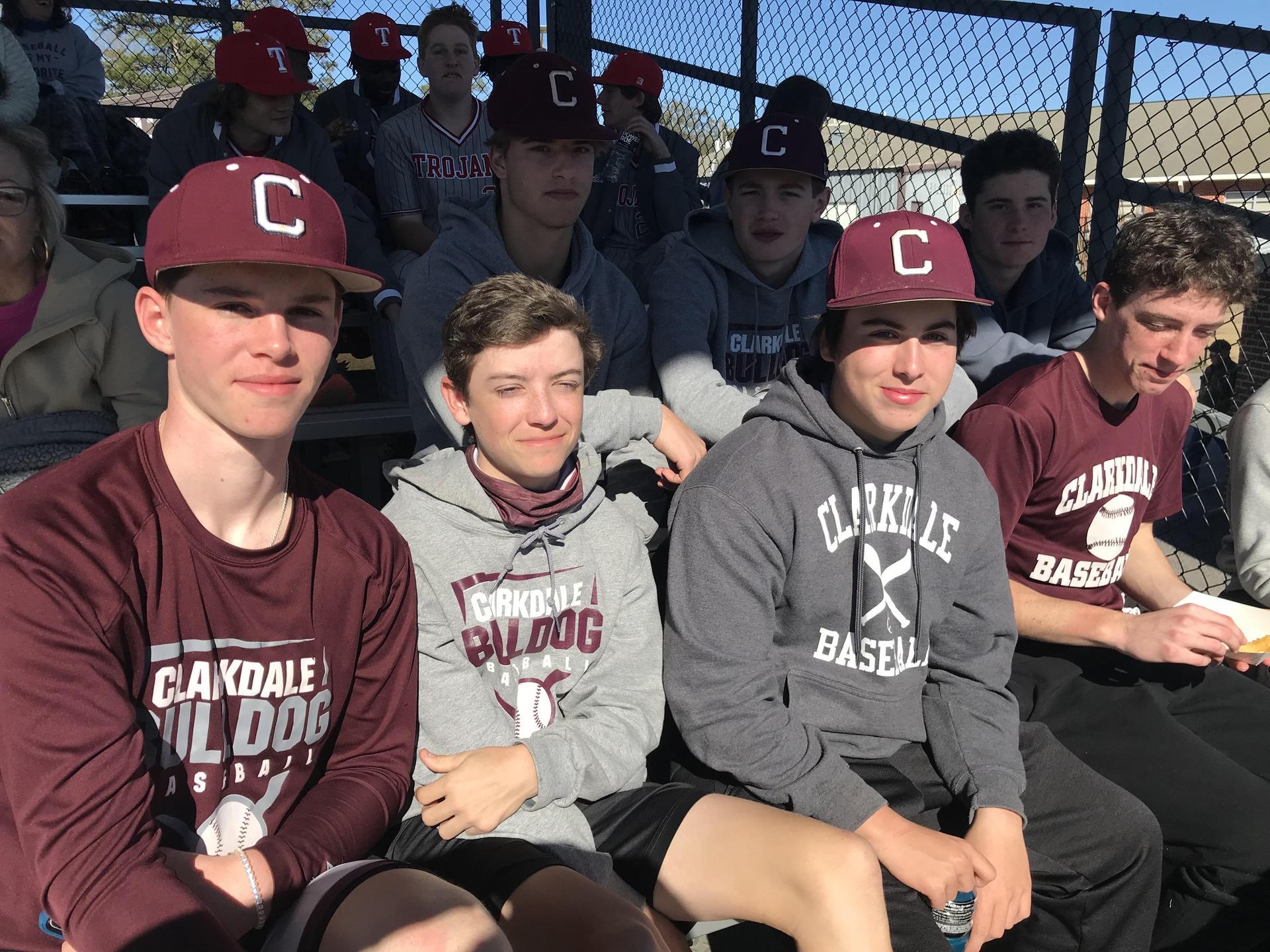 CHS Baseball Players
