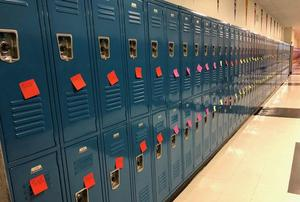 Notes on student lockers