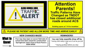AES Traffic Alert