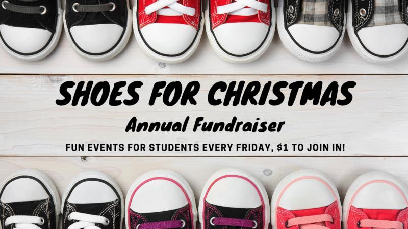 Shoes for Christmas Annual Fundraiser! / ¡Zapatos para la Recaudación de Fondos Anual de Navidad! Thumbnail Image