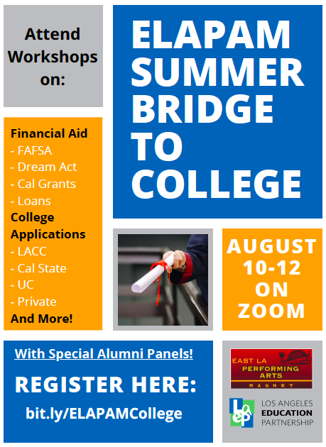 Seniors (Click here to sign up) - Summer Bridge to College Featured Photo