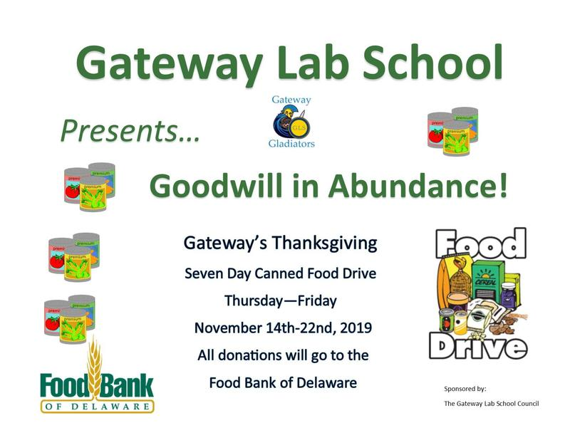School-wide Canned Food Drive Featured Photo