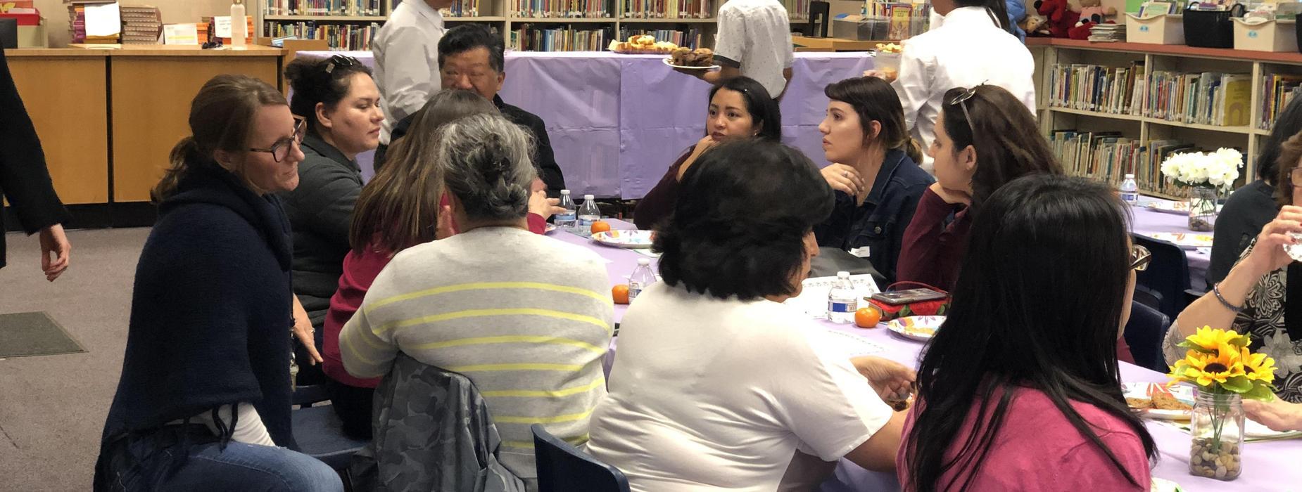 Marguerita Staff lunch event