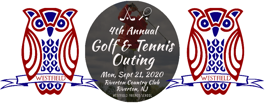 4th Annual Golf Outing banner
