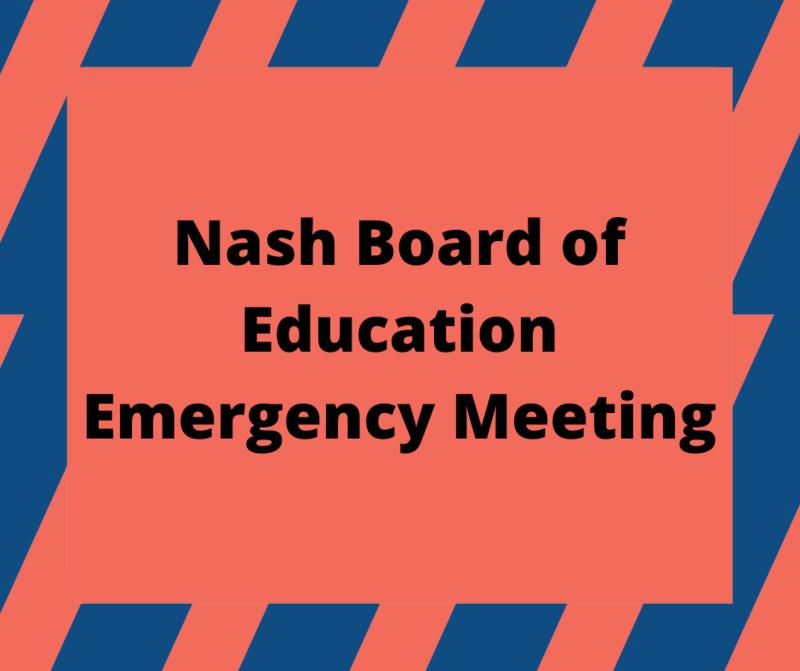 BOE Emergency Meeting