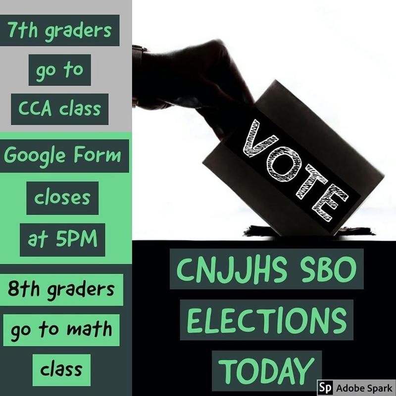 Vote Today 7th Grade CCA 8th Grade Math