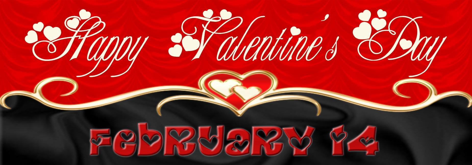 Happy Valentine's Day February 14