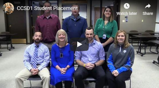 Screenshot of Video for Student Placement